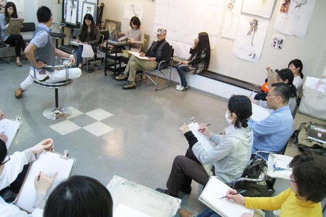 大阪でクロッキーやデッサンを指導《初心者も大歓迎》