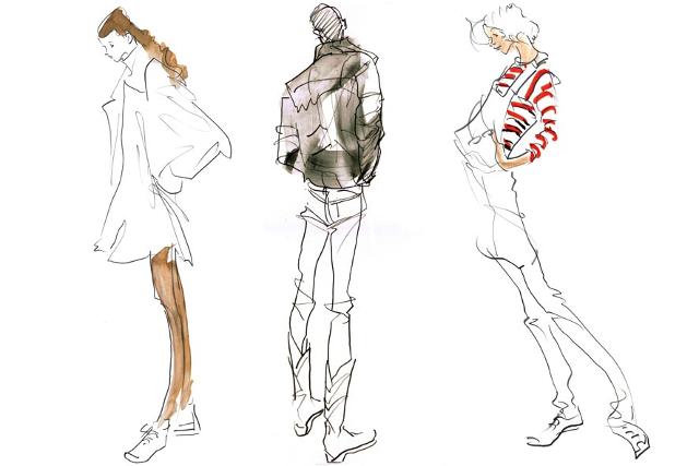 クロッキーは大阪の【マサモードアカデミーオブアート】で学べる《クロッキーと模写の違いとは?》